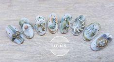 """896 Likes, 16 Comments - Újvári Barbara (@ujvaribarbara) on Instagram: """"Green pastell winter decorations #ujvaribarbara #handmade #salondecoration #shortnails…"""""""