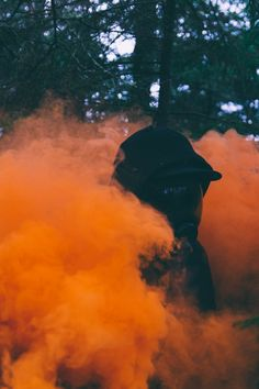ITAP of my friend a mask and a smoke grenade via /r/itookapicture by carterhutton