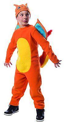Purim Large Costume Pokemon Charizard Co Halloween New