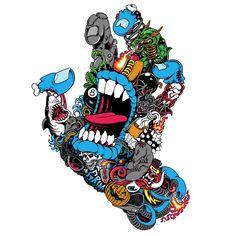 Graffiti Art, Graffiti Drawing, Art Drawings, Arte Dope, Dope Art, Skateboard Design, Skateboard Art, Illustration Design Graphique, Illustration Art