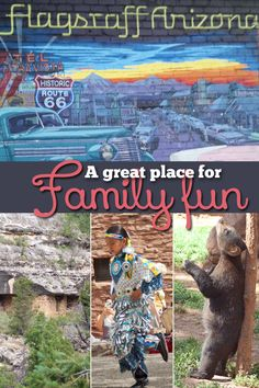 Flagstaff, Arizona is a great place to visit for families.  There is so much nearby.  Grand Canyon, Wildlife places, and tasty food make the trip really enjoyable! #pullingcurls