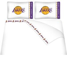 Use this Exclusive coupon code: PINFIVE to receive an additional 5% off the Los Angeles Lakers Microfiber Sheet Set at SportsFansPlus.com