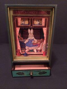 Little Grey Rabbit Animated Music Box