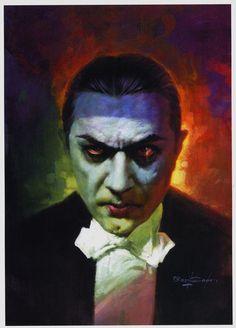 Bela Lugosi as Dracula........image by Basil Gogos