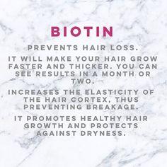 Hair Care 🙆🏼💁🏼🙅🏼 Benefits of Biotin 😍 #haircare #biotin #beauty #biotinbenefits #hair #hairgrowth #healthyhair #stronghair #beautyblogger #instabeauty #bloger #like4like