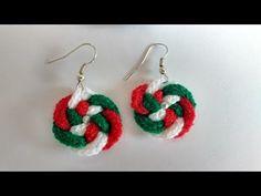 Crochet aretes tejidos a crochet (pendientes a crochet) - YouTube