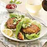 Red Lentil Burgers Recipe from Cooking Light (Sept 2014)