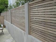 nz residential fencing - Google Search Fence, Outdoor Structures, Wood, Outdoor Decor, Furniture, Google Search, Home Decor, Fences, Gardens