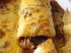 Smothered beef burrito Recipe