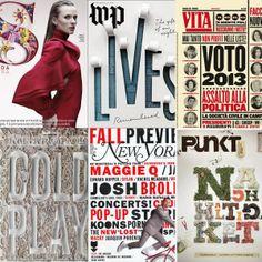 Lettering Time: Portadas tipográficas de revistas