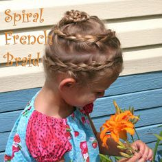 Nancy's Couture: Spiral French Braid