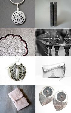 Silver Elegance by Semi Vintage on Etsy--Pinned with TreasuryPin.com