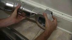 MagVent MV-90 Magnetic Dryer Vent Installation