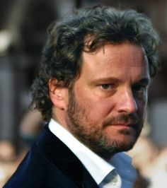 Colin Firth Like fine wine. Grey hair is the crown of the aged. I'd rather my man grow grey naturally than to dye it or shave his head.
