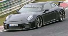 Cool Cars, Trucks & Motorcycles Facelifted 2017 Porsche 991 GT3 Spied Completely Free Of Camo #Nurburgring #Porsche