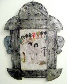 Electronics, Cars, Fashion, Collectibles, Coupons and Adam Et Eve, Tin Art, New Mexican, Cactus Flower, Art Object, Vintage Love, Fabric Art, Folk Art, Cool Pictures