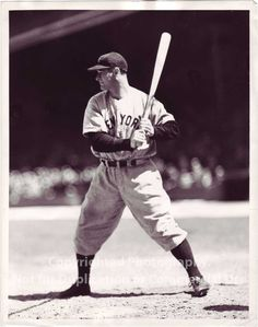 The old days: Lou Gehrig