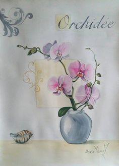 Vintage orchid от PomegranateArtMaria на Etsy