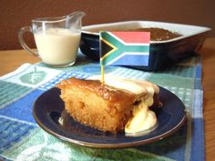 South African Malva Pudding - another of my fave deserts Malva Pudding, South African Recipes, Pie Dessert, Savoury Dishes, No Bake Desserts, The Best, Sweet Treats, Good Food, Puddings