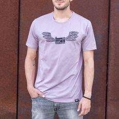 T-Shirt FLYCAM Photographers, Organic Cotton, Stylish, Tees, Prints, Mens Tops, T Shirt, Fashion, Moda