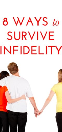 How to survive infidelity :: I am happily married to a faithful man but this is a very good read for anyone who has ever been cheated on. ::