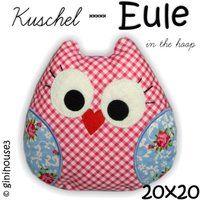 Kuschel - EULE ✿ Stickdatei IN THE HOOP - ginihouse3, EUR 5.00