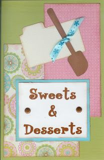 Paper Cottage: Recipe Dividers