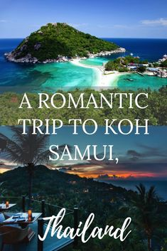 Koh Samui is a great hidden location in Thailand that few people are aware of. This magical paradise is a truly wonderful place for a couple to enjoy their privacy, but that's only one of the things it provides – you should check out the rest. Thailand Honeymoon, Thailand Travel Guide, Best Honeymoon, Romantic Honeymoon, Romantic Travel, Asia Travel, Travel Tips, Travel Ideas, Honeymoon Planning