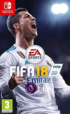 Electronic Arts Sports presents FIFA 18 (Nintendo Switch) The Wolf Among Us, Fifa Games, Ps4 Games, Games Consoles, Phone Games, The Journey, Cristiano Ronaldo, Fifa Ultimate Team, Joystick Arcade
