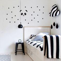 Unicorn-Diseño-mágico-Pared Arte-Vinyl-opción de marco de caja-la etiqueta de la pared