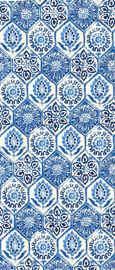 SHADES OF BLUE COLOR NAMES - Gorgeous pattern - love the blue. Perfect if possible for fabric pattern. Beautiful mosaic colour - more inspiration https://steeringnews.com/shades-of-blue-color-names/
