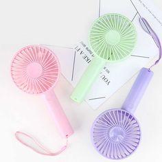 Color : 02 Air Cooler USB Fan Mute Rechargeable Fan Desktop Handheld Portable Fan Flexible Clip Fan