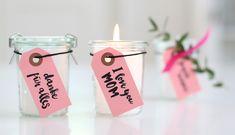 DIY-Duftkerze zum Muttertag