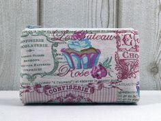 Schminktäschchen - ٠Confiserie٠ Mini-Kosmetiktasche - ein Designerstück von ICED bei DaWanda