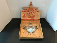 Vintage NOMA Star Lucite and Chrome Window Star #NOMA #Christmas