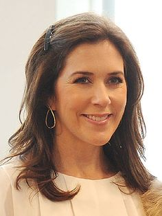Her Royal Highness The Crown Princess Mary Elizabeth Donaldson Married to Crown Prince Frederik of Denmark