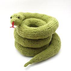 knitted snake |