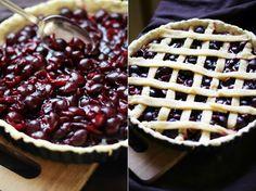 Cherry Pie - tarta z wiśniami Cooking Recipes, Pie, Mary Cherry, Food, Pies, Torte, Cake, Chef Recipes, Fruit Cakes