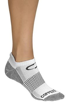 Copper Fit Unisex Copper Fit Sport Socks With Anti-odor T...