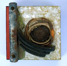 Origin II: found object assemblage by tristanfrancis on Etsy