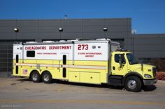 Chicago Fire Dept - CFD - Chicago O'hare Airport - Mobile Communications 273