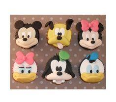 Disney cupcakes= adorable