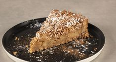 Apple crumble pie by the Greek chef Akis Petretzikis. Make easily and quickly this recipe for a delicious apple pie made with sandwich bread! Apple Crumble Pie, Tv Chefs, Baked Apples, Desert Recipes, Pie Recipes, Deserts, Breakfast, Ethnic Recipes, Sweet