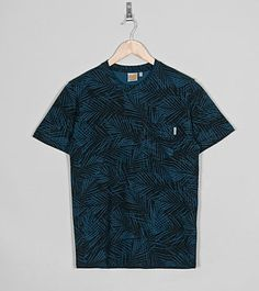 Carhartt WIP Manor Palm Print Pocket T-ShirtCarhartt WIP Manor Palm Print Pocket T-Shirt - find out more on our site. Carhartt Wip, Student Discounts, Palm Print, Men Casual, Pocket, Mens Tops, T Shirt, Stuff To Buy, Shopping