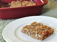 Oatmeal Banana Breakfast Bars