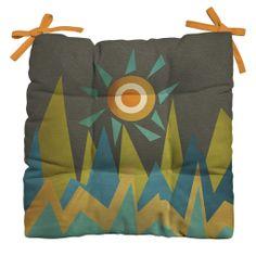 Viviana Gonzalez Retro Landscape II Outdoor Seat Cushion | DENY Designs Home Accessories