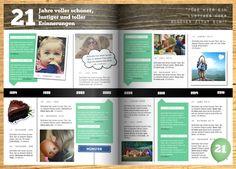 Tolle Themen für die Geburtstagszeitung: www.jilster.de #geburtstagszeitung #themengeburtstagszeitung