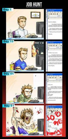 The Job Hunt #humor #lol #funny