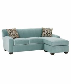 I want a guestroom that functions as both guestroom/Lori's closet/music room/library/craft room! Thats quite a demand from one little room. Its gonna take lots of planning and organizing but should be fun. This sleeper sofa would work well as space saving idea. Love the color!
