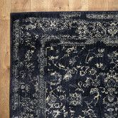 Found it at Wayfair - Regina Black & Ivory Rug